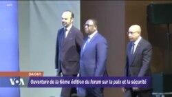 Ouverture du Forum sur la paix et la sécurité en Afrique à Dakar