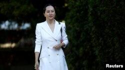 资料照:华为公司首席财务官孟晚舟
