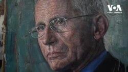 Особливі портрети героїв ковідного часу художника з Нью-Йорка. Відео