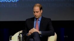 Britain's Prince William Accuses Wildlife Poachers of 'Looting The Planet'