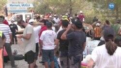 Gönüllüler Marmaris'e Akın Etti