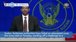 VOA60 Africa- Sudanese authorities have foiled an attempted coup, the army said on Tuesday