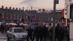 貝爾法斯特新教徒遊行穿越天主教徒區爆發衝突