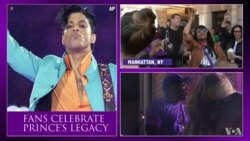 Fans Pay Tribute to Music Icon Prince