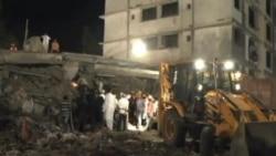 印度建築物倒塌死亡人數上升至72人