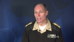 Admiral Michael Franken Discusses Islamic State with VOA
