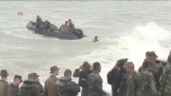 美國和菲律賓舉行兩棲登陸軍演