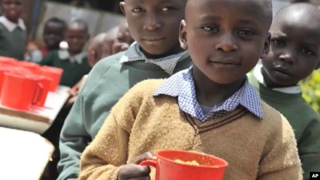 Millions of children in developing countries undernourished and underweight.