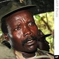 Joseph Kony, leader of the LRA rebels
