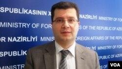 Azərbaycan Xarici İşlər Nazirliyinin mətbuat katibi Elman Abdullayev