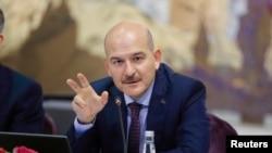 Türkiyənin daxili işlər naziri Süleyman Soylu
