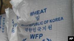 聯合國人道救援機構首腦阿莫斯星期四會晤了北韓議會議長金永南﹐對糧食短缺問題進行評估。(資料圖片)