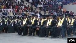 Estudantes angolanos (foto de arquivo)