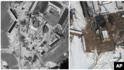 衛星圖像顯示位於北韓寧邊的一座核資設施。