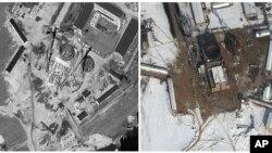 Ảnh do vệ tinh chụp cơ sở hạt nhân ở Yongbyon, Bắc Triều Tiên