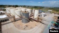 Imagen de la planta de biodiesel Patagonia Bioenergia en San Lorenzo, Argentina. (Archivo)