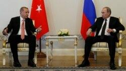 Erdog'an Putin bilan uchrashdi