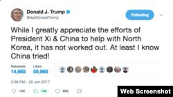 Twitter của ông Trump