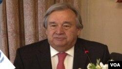 Antonio Guterres, Madaxa hay'adda UNHCR
