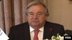 Komisioner Tinggi PBB untuk Pengungsi, Antonio Guterres (foto: dok).