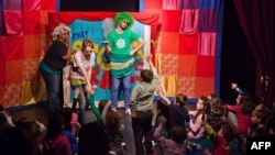 A Story Pirates performance in New York City in February