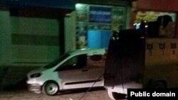 Sebuah kendaraan pasukan keamanan Turki yang dituduh telah menyeret mayat seorang pemberontak Kurdi (foto: dok).