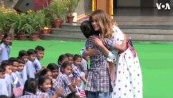 Մելանիա Թրամփը Հնդկաստանում մասնակցել է «երջանկության դասին»