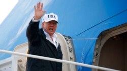 သမၼတ Donal Trump အာ႐ွ ၅ ႏိုင္ငံ ခရီးထြက္မည္