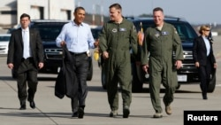 Барак Обама по дороге в Вашингтон