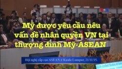 Mỹ được yêu cầu nêu vấn đề nhân quyền VN tại thượng đỉnh Mỹ-ASEAN