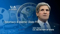 Audio of VOA's Scott Stearn's interview with U.S. Secretary of State John Kerry in Jeddah, Sept. 22, 2014