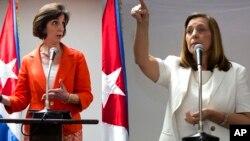 La secretaria de Estado adjunta, Roberta Jacobson, y la diplomática Josefina Vidal nuevamente estarán al frente de las delegaciones de sus países.