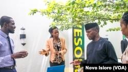 mataimakin shugaban kasa Yemi Osinbajo's ya kai ziyara cibiyar kimiya da fasaha a Abuja, Afrilu, 4, 2018