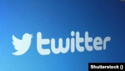 社交媒体推特商标。