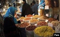 تصویری از بازار تهران