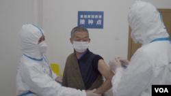 中國進行新冠疫苗二期臨床試驗。