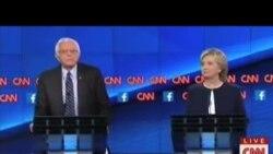 克林頓桑德斯圍繞敘利亞和控槍等問題首度激辯