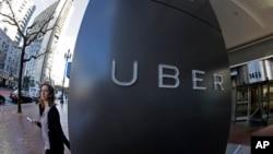 Kantor pusat perusahaan Uber di San Francisco, California (foto: ilustrasi).