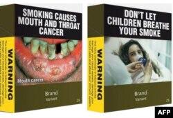 Avustralya'da sigara paketleri yakında böyle olacak