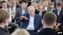 Выступление Владимира Путина перед студентами Томского политехнического университета