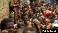 Des réfugiés éthiopiens au Yémen