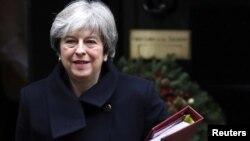 Perdana Menteri Inggris Theresa May (foto: dok).