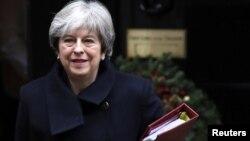 Perdana Menteri Inggris Theresa May didesak untuk melangsungkan referendum kedua soal Brexit (foto: dok).