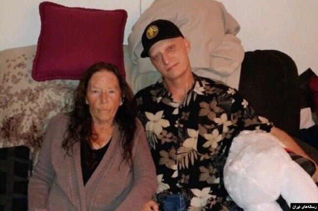 از معدود عکس هایی که خانواده آقای وایت از دوران بیماری او منتشر کرده اند.