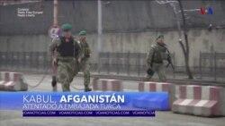Atentado a vehiculo diplomático turco en Kabul