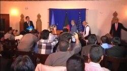 جان کری بر تشکیل دولت وحدت ملی در افغانستان تاکید کرد