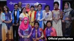 تین پاکستانیوں سمیت ایشیائی ممالک سے تعلق رکھنےوالےنوجوانوں کو بھی ایوارڈ دیاگیا