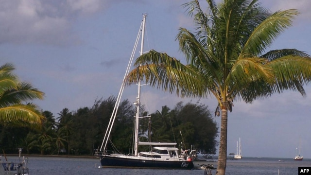This undated photo courtesy of a family friend shows the S/V Quest yacht that belonged to Jean and Scott Adams. Somali pirates on February 22, 2011 killed four Americans onboard their hijacked yacht.