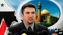 عدنان الزرفی پیش از این فرماندار شهر نجف بود.