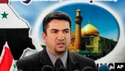 Mantan Gubernur Najaf, Adnan al-Zurfi, ditunjuk sebagai Perdana Menteri Irak, 17 Maret 2020. (Foto: dok).